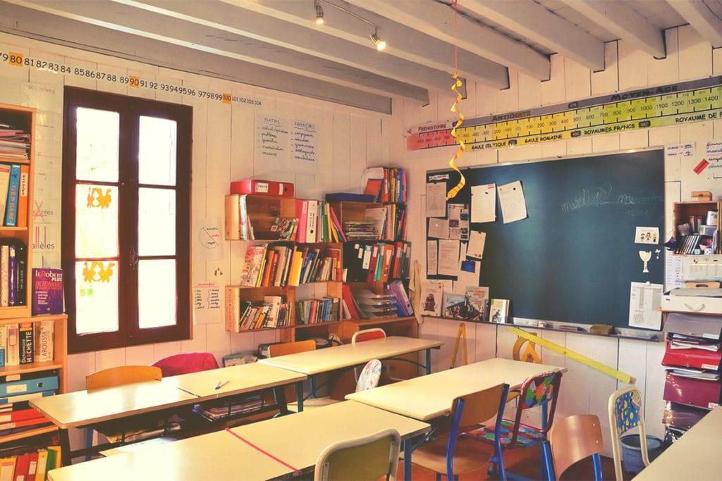 La Chrysalide à Captieux, école de la transition